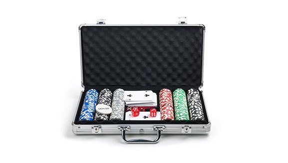 Gaming Chips set aluminum case