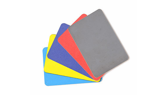 Plastic flexible cut cards