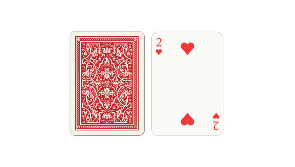 Wide-Jumbo index playing cards