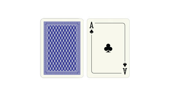 Red & Blue wide-regular index playing cards