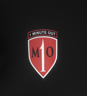 1 Minute Out Sticker