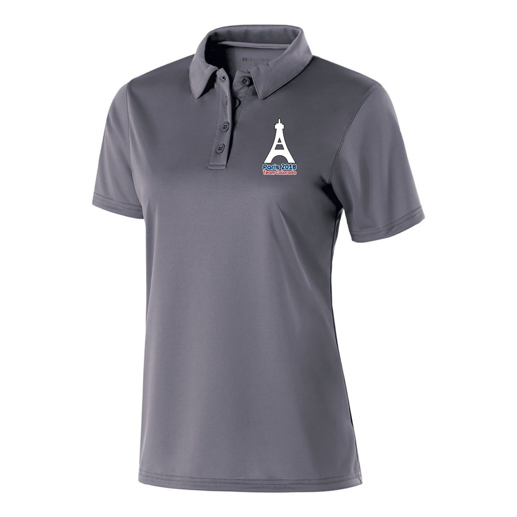 Team CO Paris 2018 Polo - Women's, Regular Order 00005