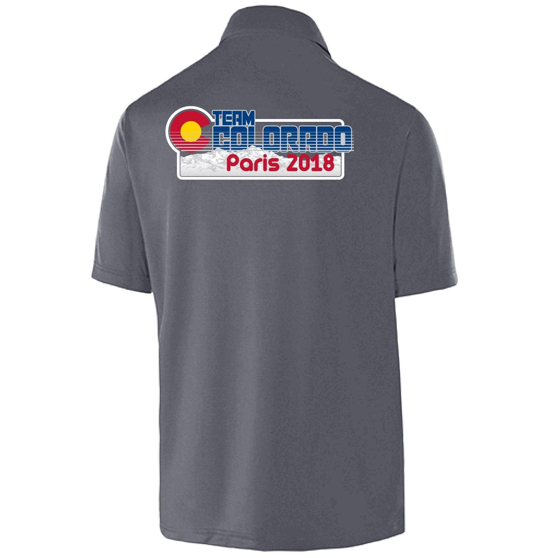 Team CO Paris 2018 Polo - Unisex, Regular Order