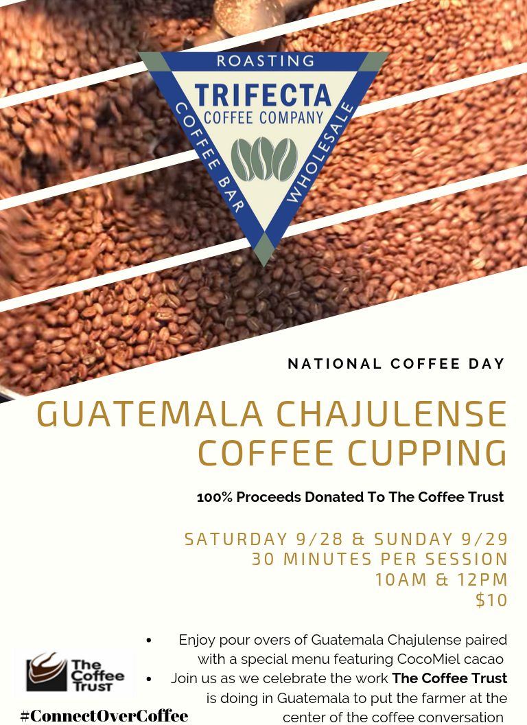 National Coffee Day Cupping Session