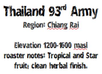 Thailand 93rd Army