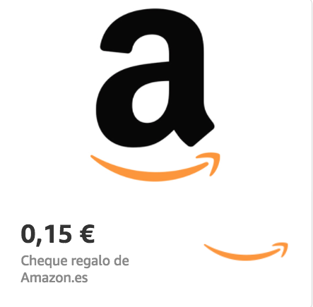 Amazon.es €0.15 Gift Card (Email Delivery)