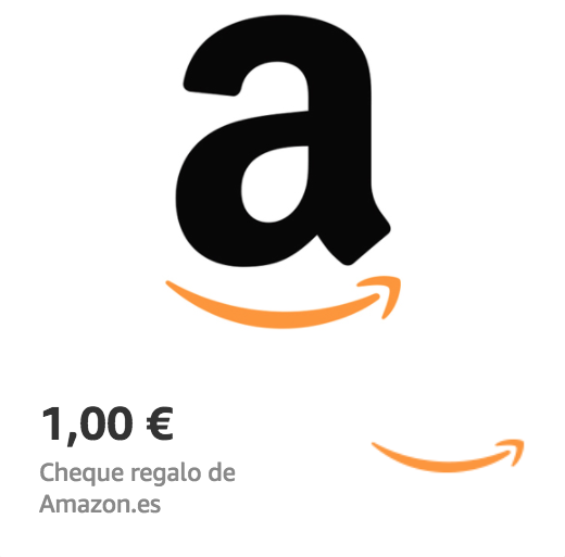 Amazon.es €1 Gift Card (Email Delivery)