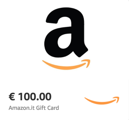 Amazon.it €100 Gift Card (Email Delivery)