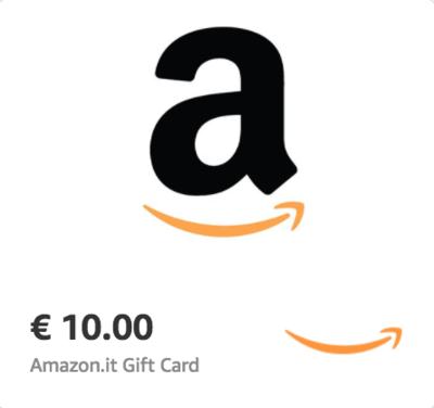 Amazon.it €10 Gift Card (Email Delivery)
