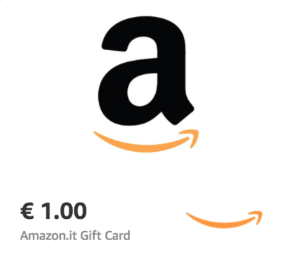 Amazon.it €1 Gift Card (Email Delivery)