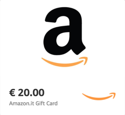 Amazon.it €20 Gift Card (Email Delivery)