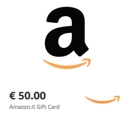 Amazon.it €50 Gift Card (Email Delivery)