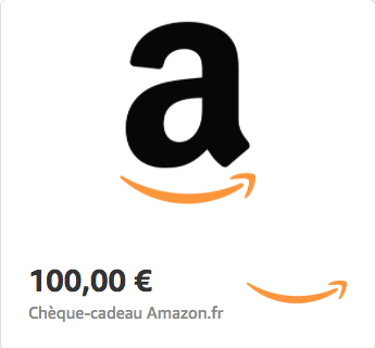 Amazon.fr €100 Gift Card (Email Delivery)
