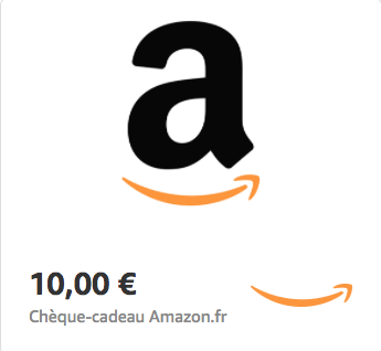 Amazon.fr €10 Gift Card (Email Delivery)