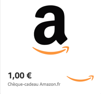 Amazon.fr €1 Gift Card (Email Delivery)