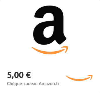 Amazon.fr €5 Gift Card (Email Delivery)
