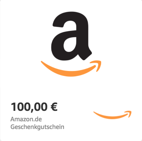 Amazon.de €100 Gift Card (Email Delivery)