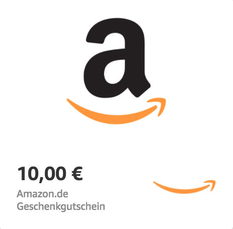 Amazon.de €10 Gift Card (Email Delivery)
