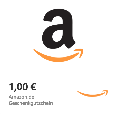 Amazon.de €1 Gift Card (Email Delivery)