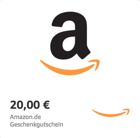 Amazon.de €20 Gift Card (Email Delivery)