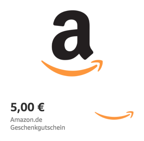 Amazon.de €5 Gift Card (Email Delivery)