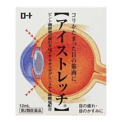 Rohto Eyestretch Eye Drops