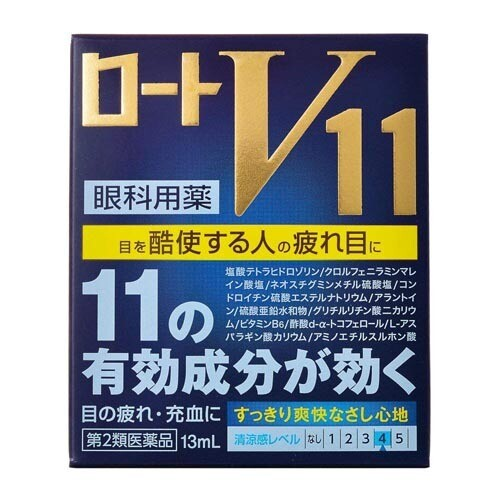 ROHTO V11 Eye Drops