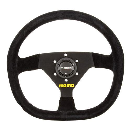 Steering Wheel Momo Mod. 8832Pie BK/Suede Medium–66