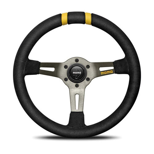 Steering Wheel Momo Drift 33 Pie BK/Suede D – 20