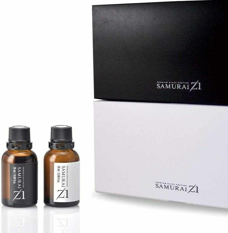 Samurai Z1 Glass coating for wheels hard & soft type set