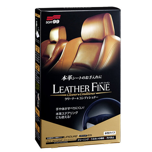 Soft99 Leather Fine Cleaner & Conditioner SIS023