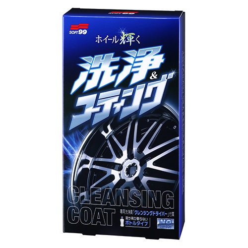 Soft99 Cleansing Coat Tire Shine STL031