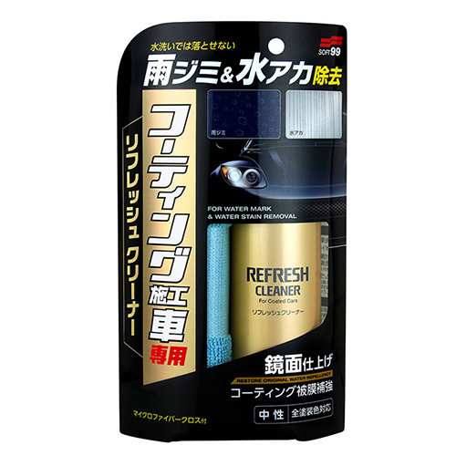 Soft99 Refresh Cleaner for Coated Cars SEC032