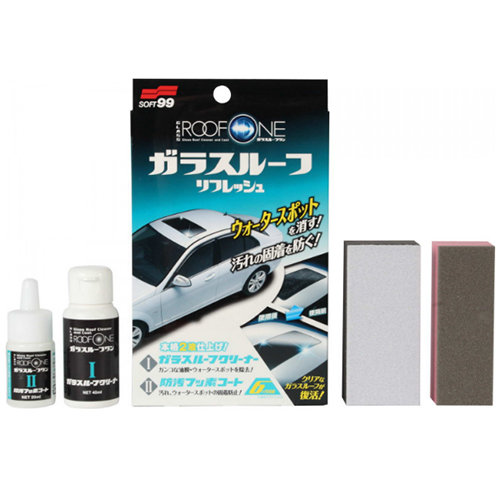 Soft99 Roof One Glass Roof Cleaner&Coat