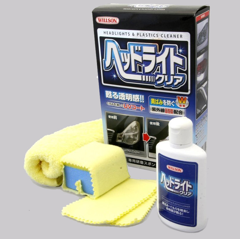 Willson Headlight & Plastics Cleaner (2 sizes)