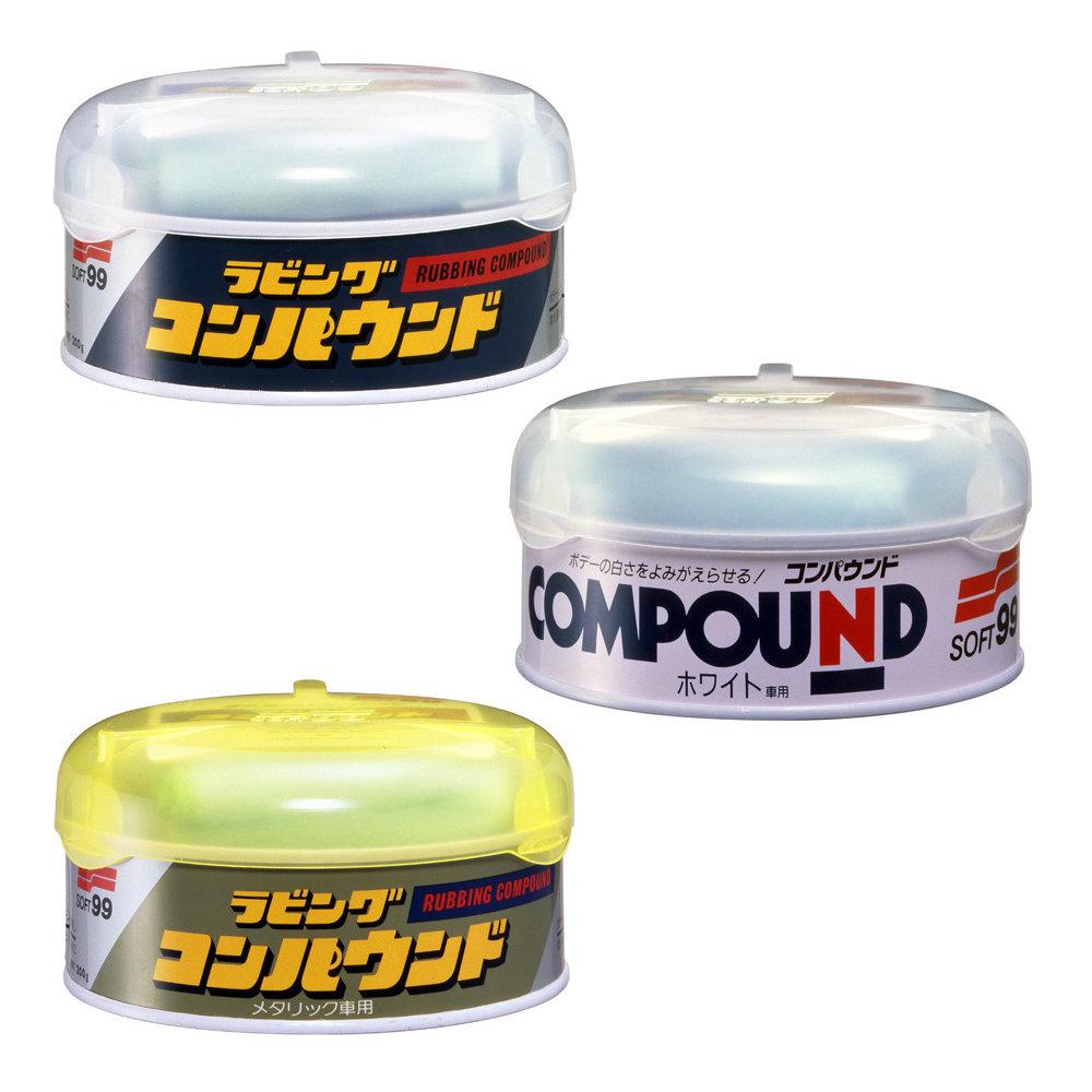Soft99 Rubbing Compound (3 types) SCC103