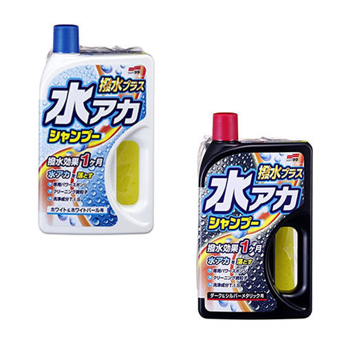 Soft99 Super Cleaning Shampoo + Wax White & White Pearl