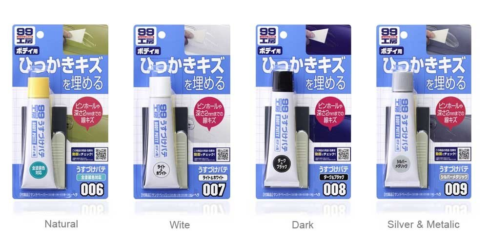 Soft99 Body Putty Dark