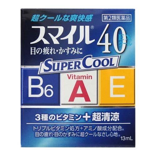 Lion Smile 40 EX Cool Eye Drops