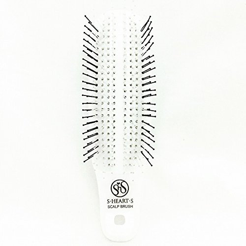 S-Heart-S Mini White Scalp Brush