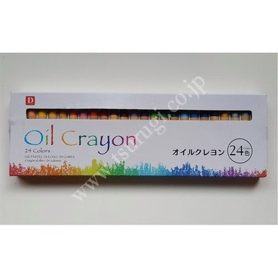 Oil Crayon 24Pcs