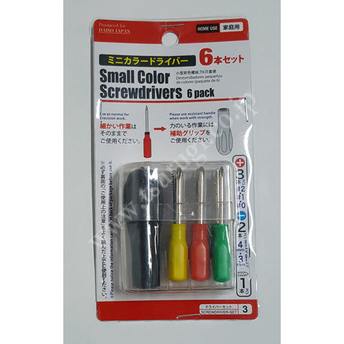 Small Color Screwdrivers 6pcs