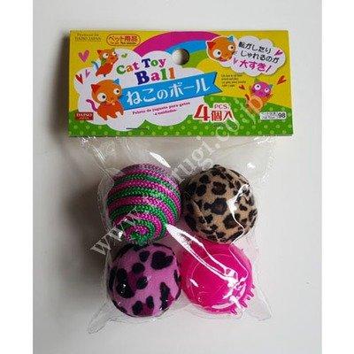 Cat Toy Ball 4pcs