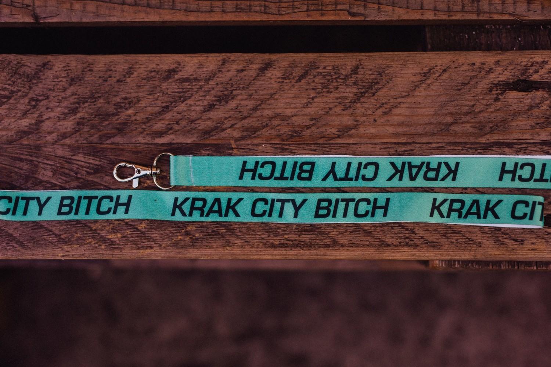 Krak City Lanyard