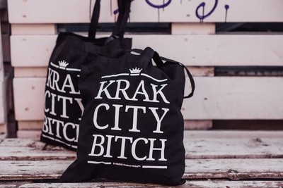 Krak City Tote Bag Black