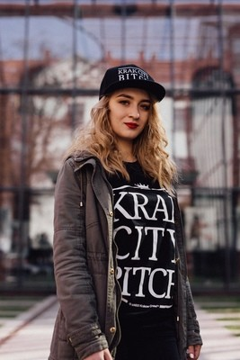 Krak City T-Shirt Black Small