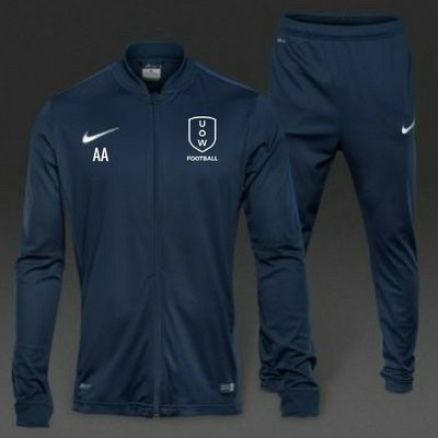 UOWFC 2019 Nike Academy 16 Knit FULL TRACKSUIT - Navy/Royal