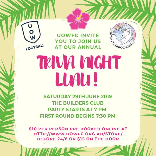 UOWFC Trivia Night 2019 38