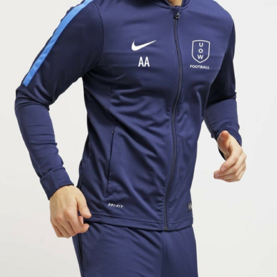 COVID SALE UOWFC 2020 Nike Academy Dri Fit Trackjacket - Navy/Royal
