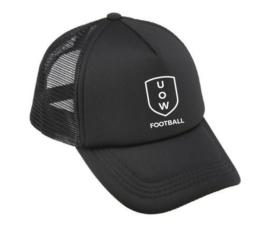UOWFC Trucker Cap - Black